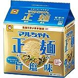 マルちゃん正麺 旨塩味 5食パック(112g*5食入)