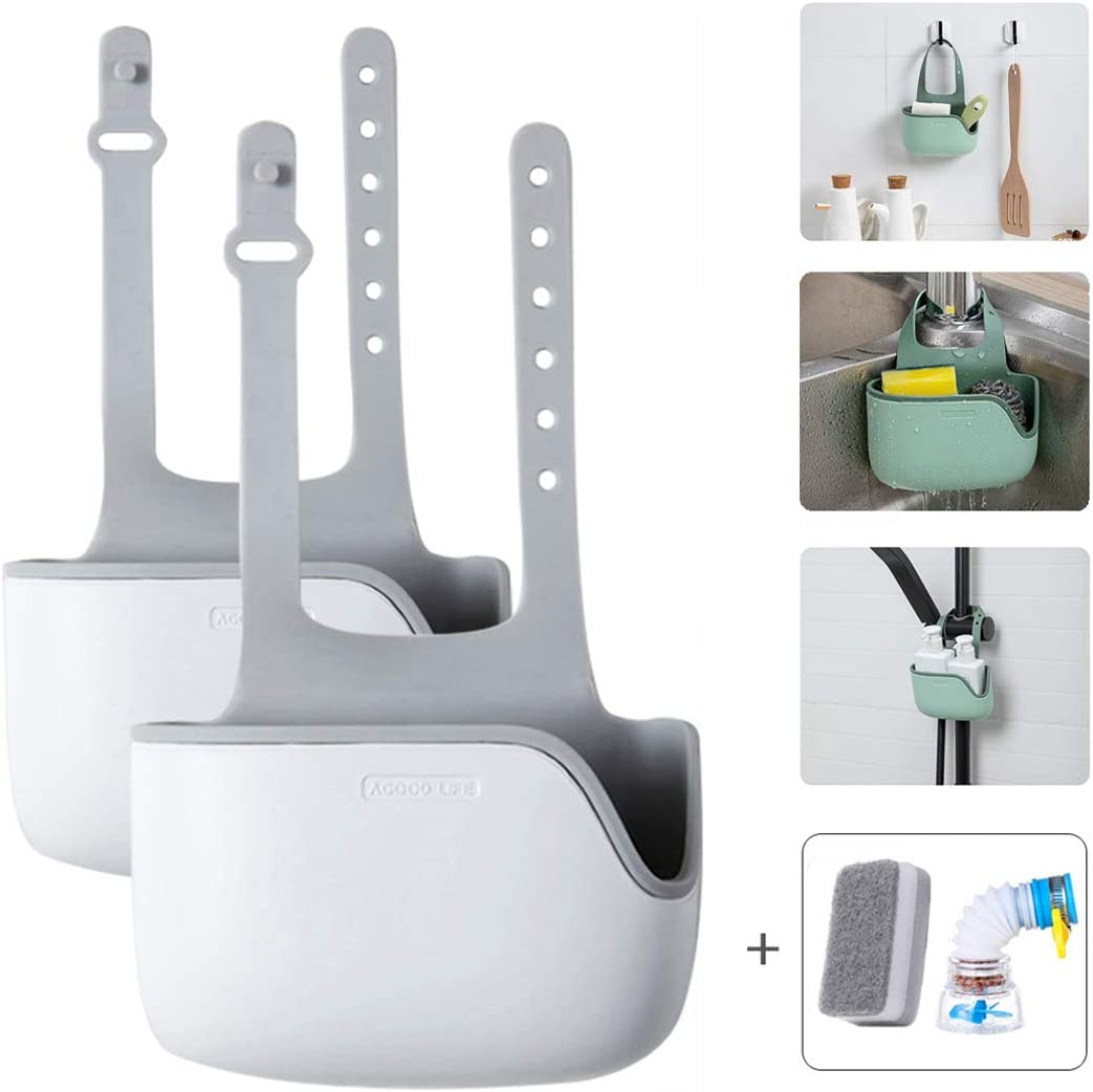Al sold Free Shipping Cheap Bargain Gift out. QQBB Kitchen Sink Caddy Sponge Storage Ra Telescopic Holder