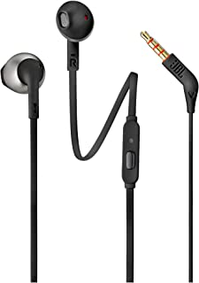JBL T205 Earbuds Headphones, Black