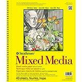 Strathmore (362-11) 300 Series Mixed Media Pad, 11