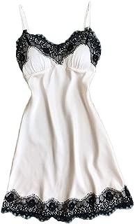Muranba◕ᴗ◕ Womens Sexy Lingerie, Women Lace Lingerie Nightwear Babydoll Sleepwear Dress One Piece Fishnet Teddy Cups