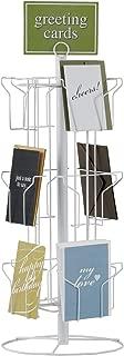 "SSWBasics 12-Pocket Rotating Greeting Card Rack - 25""H x 12""D"