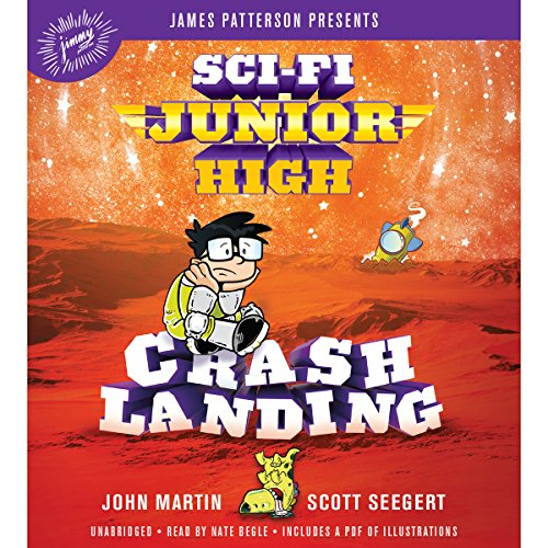Sci-Fi Junior High: Crash Landing audiobook cover art