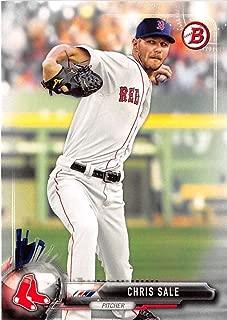 2017 Bowman #91 Chris Sale Boston Red Sox Baseball Card