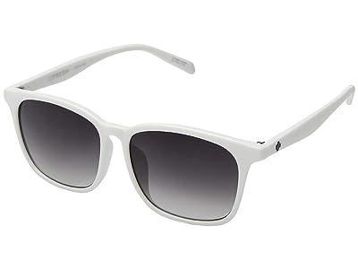 Spy Optic Cooler (White/Navy Fade) Fashion Sunglasses