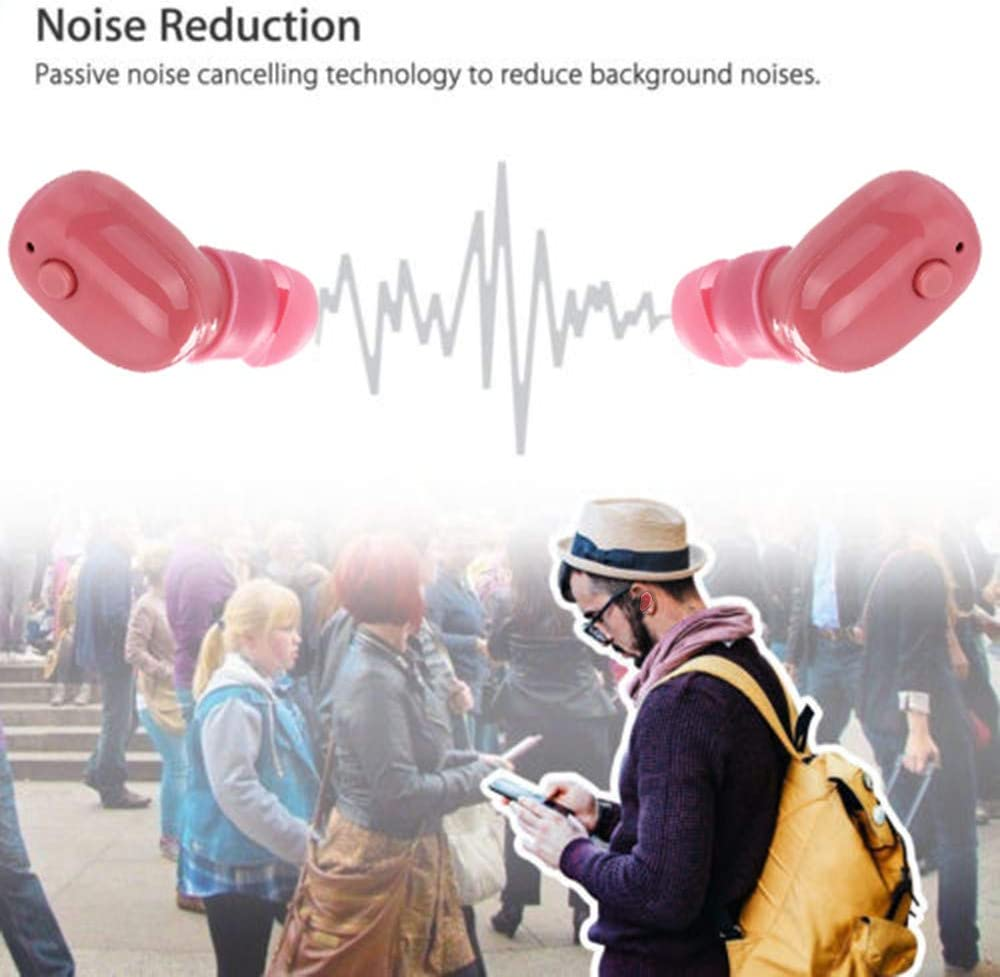 Givekoiu-Headsets Stereo Gaming Headset Wired For Pro Gamers,Bluetooth Wireless Waterproof Stereo Earphone Earbud Sport Headset Headphone Pink