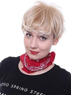 Amazonfr Meche Blonde Platine Perruques Extensions De