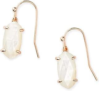 Kendra Scott Lemmi Drop Earrings in Mother-of-Pearl, 14k Rose Gold-Plated