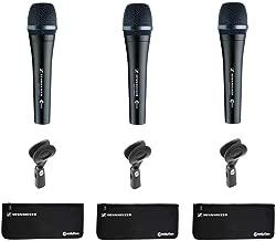 Sennheiser e945 Supercardioid Dynamic Handheld Vocal Microphone - 3 Pack