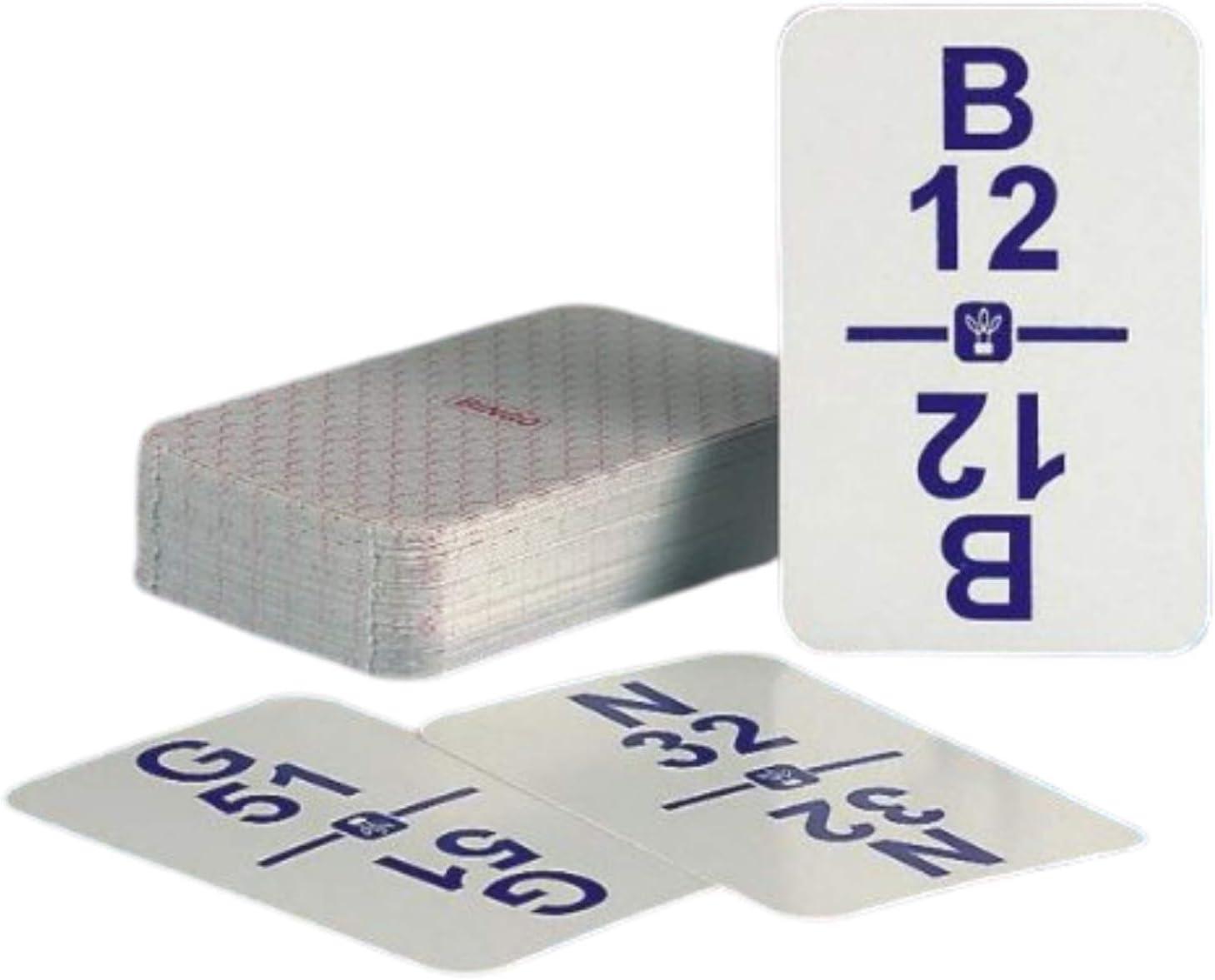 5% OFF Regal Games Bingo Calling Card mart Plastic Deck with Coating Durable