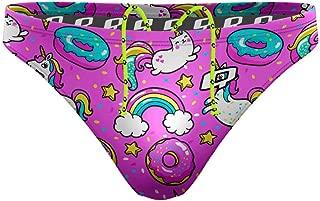 Waterpolo Swim Briefs for Men, Polyester Mens Competitive Swim Suit, Multiple Colors