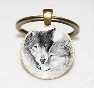 Amazon.es: los lobos - Llaveros / Joyería y maquillaje ...