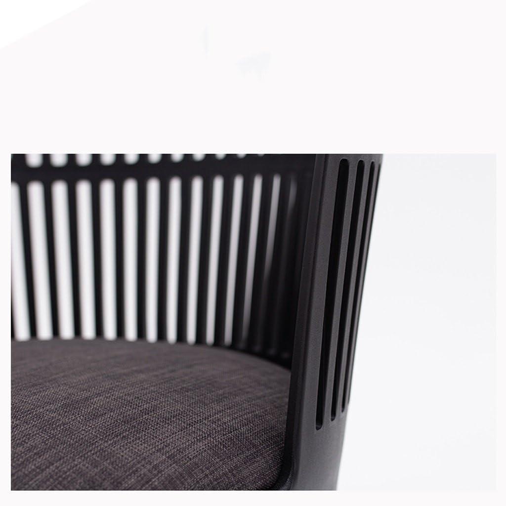 SLL- Président de négociation de réunion d'affaires de Chaise de Chambre à Coucher en Bois Solide Simple Bold Moderne (Color : B) A