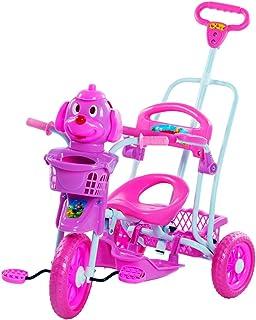 Triciclo Gangorra Cabeça Cachorro Bel Fix Rosa