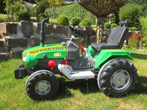 Lucino Super Traktor mit 2 Motoren je 12V Traktor Top 460276