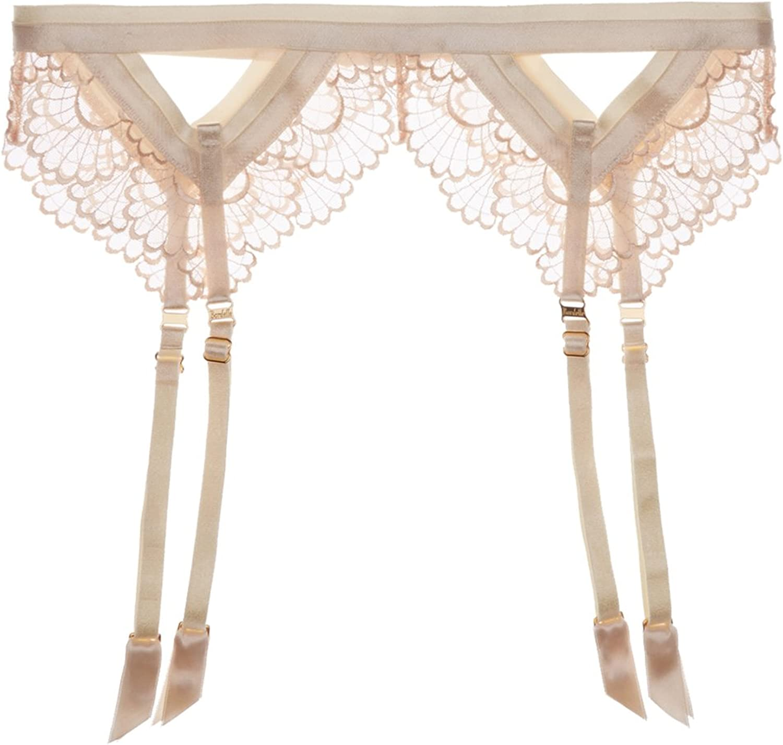 Bordelle Cream Sensu Panelled Suspender