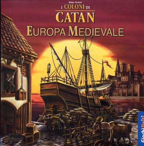 Giochi Uniti I Coloni di Catan: Europa Medievale - Juego de Mesa (versión en Italiano) [Importado de Italia]
