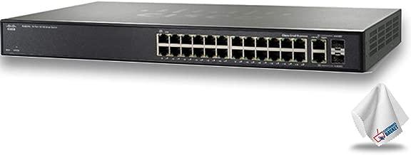 Cisco SF200-24 24-Port 10/100 Ethernet Smart Switch (No PoE) (SLM224GT-NA)