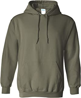 army green hooded sweatshirt