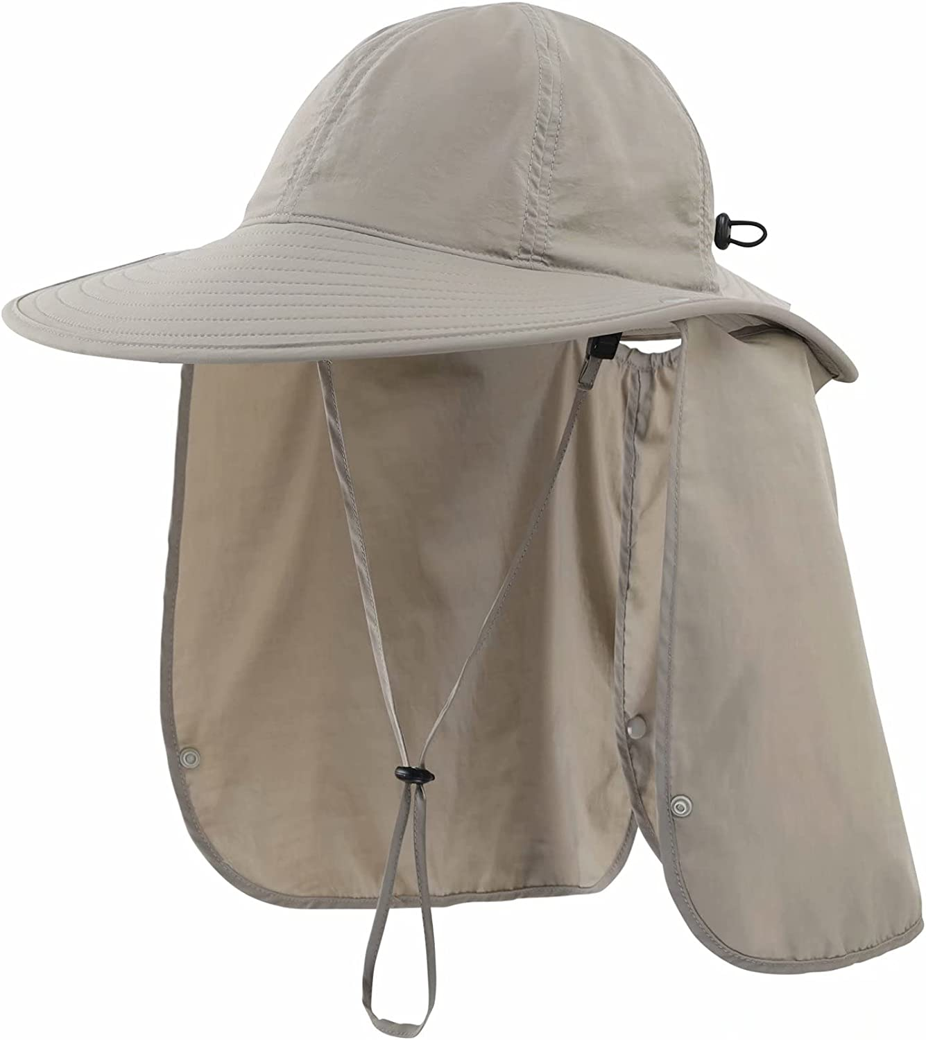 Connectyle Mens Safari Sun Hat Manufacturer OFFicial shop with Sales of SALE items from new works 50+ Protec Flap Neck UPF