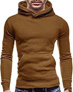 Men's Winter Classic Lapel Fur Collar Button Up Faux-Leather Jackets Navy Blue US Medium