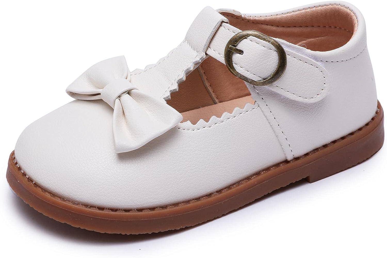 Minibella Grils All stores are sold Bowknot T-Strap Oxford Jane Max 58% OFF School Un Mary Flats
