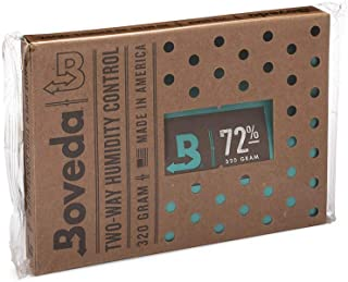 Boveda for Cigars/Tobacco | 72% RH 2-Way Humidity Control | Size 320 for Use with Up to 100 Cigars | Patented Technology for Cigar Humidors | 1-Count