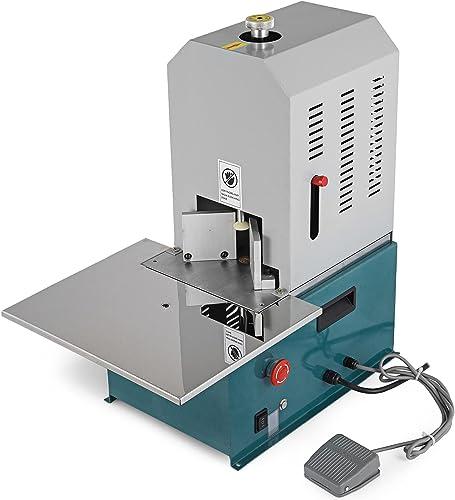 Mophorn Electric Round Corner Machine Heavy Duty Fillet Paper Cutter Machine Round Cornering with 7 Built R3-R9 Fillet Paper Cutter Machine Cutting Name Card