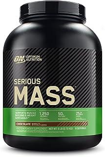 Optimum Nutrition ON Serious Mass Hoogcalorisch gewicht gainer proteïnepoeder met koolhydraten, wei-eiwit, vitaminen, crea...
