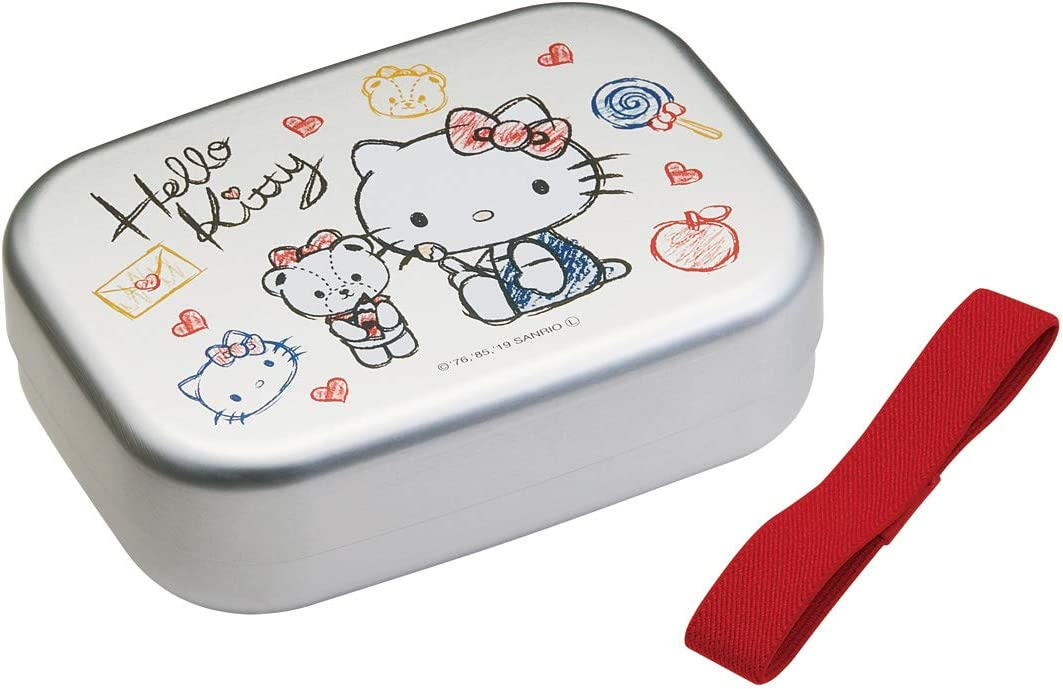 Hello Kitty Lunch Inexpensive Food Container Sanrio Sketch 37 mart Box