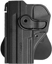 VlaMiTex B4Li Holster de ceinture en cuir Pour CZ 75 SP 01 Shadow Pour gaucher