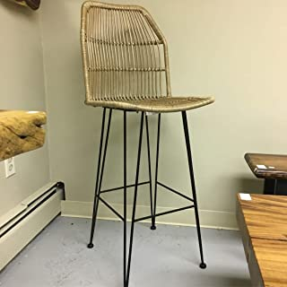 Mohr and McPherson Louis Rattan Bar Stool from Indonesia