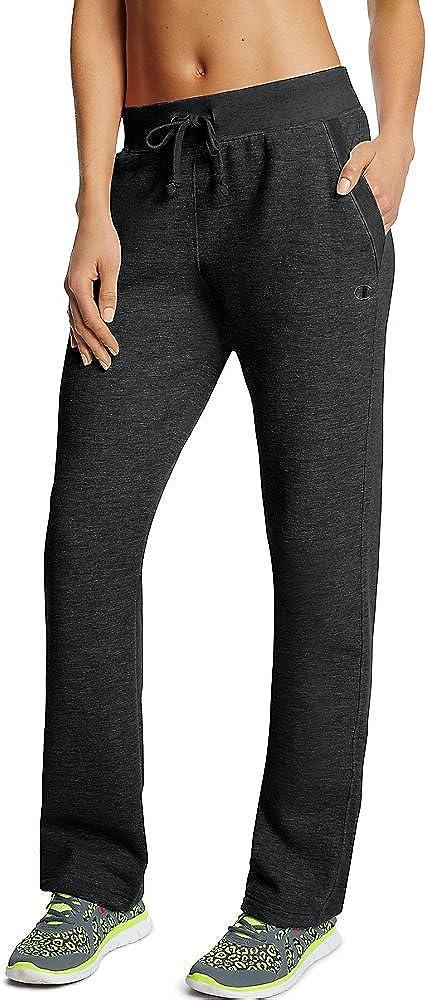 Champion Women's 期間限定 Fleece Bottom Open 激安通販販売 Pants