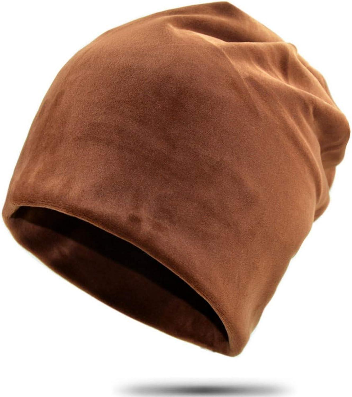 Clape Flannel Winter Beanie Hat Add Warm Velvet Predection Trendy Beanies