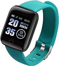 Smart Horloge Mannen Vrouwen S SmartWatch Bloeddrukmeting Hartslagmeter Fitness Android Armband iOS Smart Horloges (Kleur:...