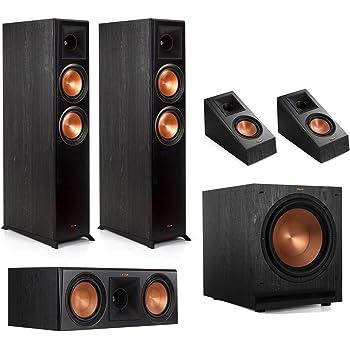 Klipsch RP-6000F 5.1 Home Theater System - Ebony