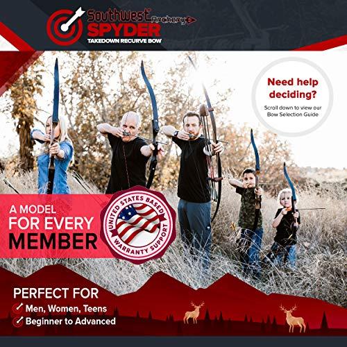 Southwest Archery Spyder Takedown Recurve Bow