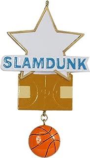 WorldWide Personalized Basketball Star Ornament