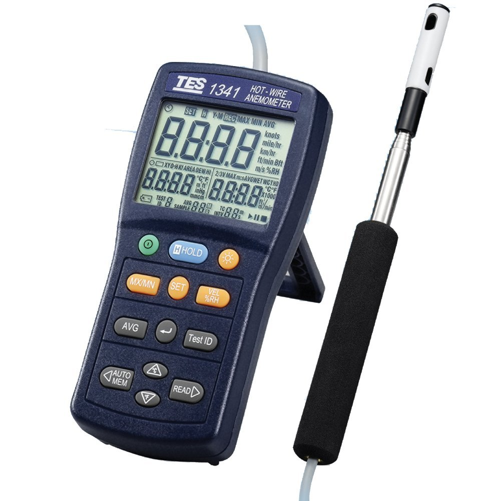 TES 1341 Hot Wire Anemometer