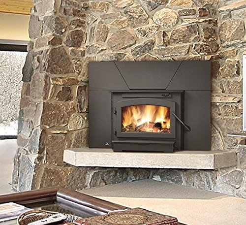 Timberwolf Economizer Series EPI22 25'' Natural Vent Wood Burning...