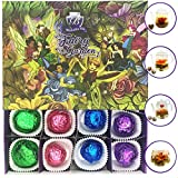 Fairy Garden Blooming Tea Flowers - Variety Pack Includes 4 Different Flavors - 12 Flowering Tea Balls In Total-Naturally Flavored Flowering Tea - Blooming Tea Fruit Wrapped to Preserve Freshness