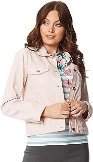 6586ab52804b Roman Originals Women Denim Jacket - Ladies Cotton Summer Casual Everyday  Daywear Lightweight Holiday Travelling Cover