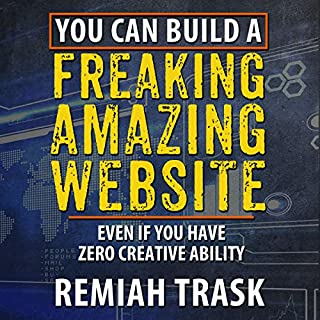 You Can Build a Freaking Amazing Website audiobook cover art