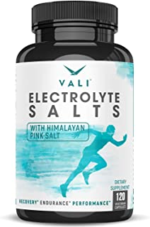 Electrolyte Salts Rapid Oral Rehydration Replacement Pills. Hydration Recovery Powder Supplement for Fast Dehydration Reli...