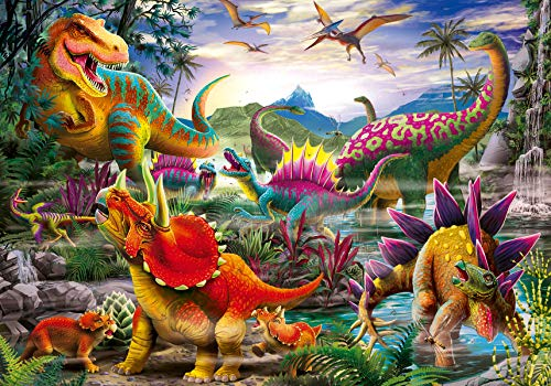Ravensburger 5160 T-Rex Terror - 35 Piece Puzzles for Kids, Every Piece is Unique, Pieces Fit Together Perfectly