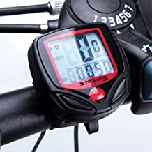 STRAUSS Unisex Adult ST-1391 Bicycle Speedometer - Black, One Size