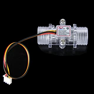 1-30 l/min. waterdoorstromingsmeter, transparante doorstroommeter, hal, watercontrole.