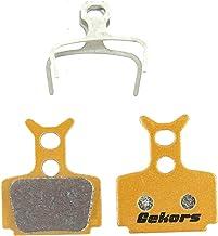 Gekors - Pastillas de Freno de Disco para Fórmula The One/R0/R1/RX/C1/Mega, Metallic(1 Pair)