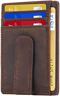 metal money clip wallet combo