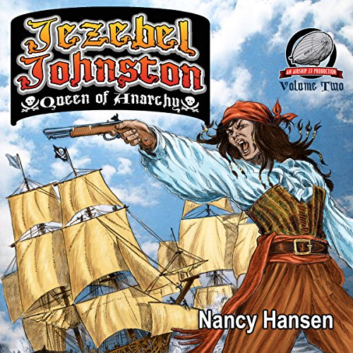 Jezebel Johnston: Queen of Anarchy audiobook cover art